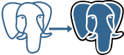 Logo for postgresql.conf compare by RustProof Labs